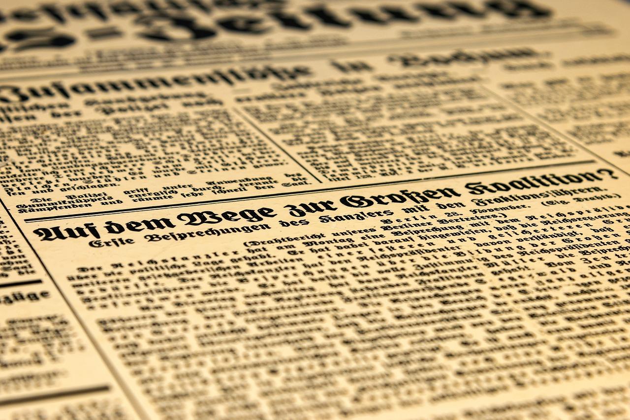 Var får man läsa tidningen?