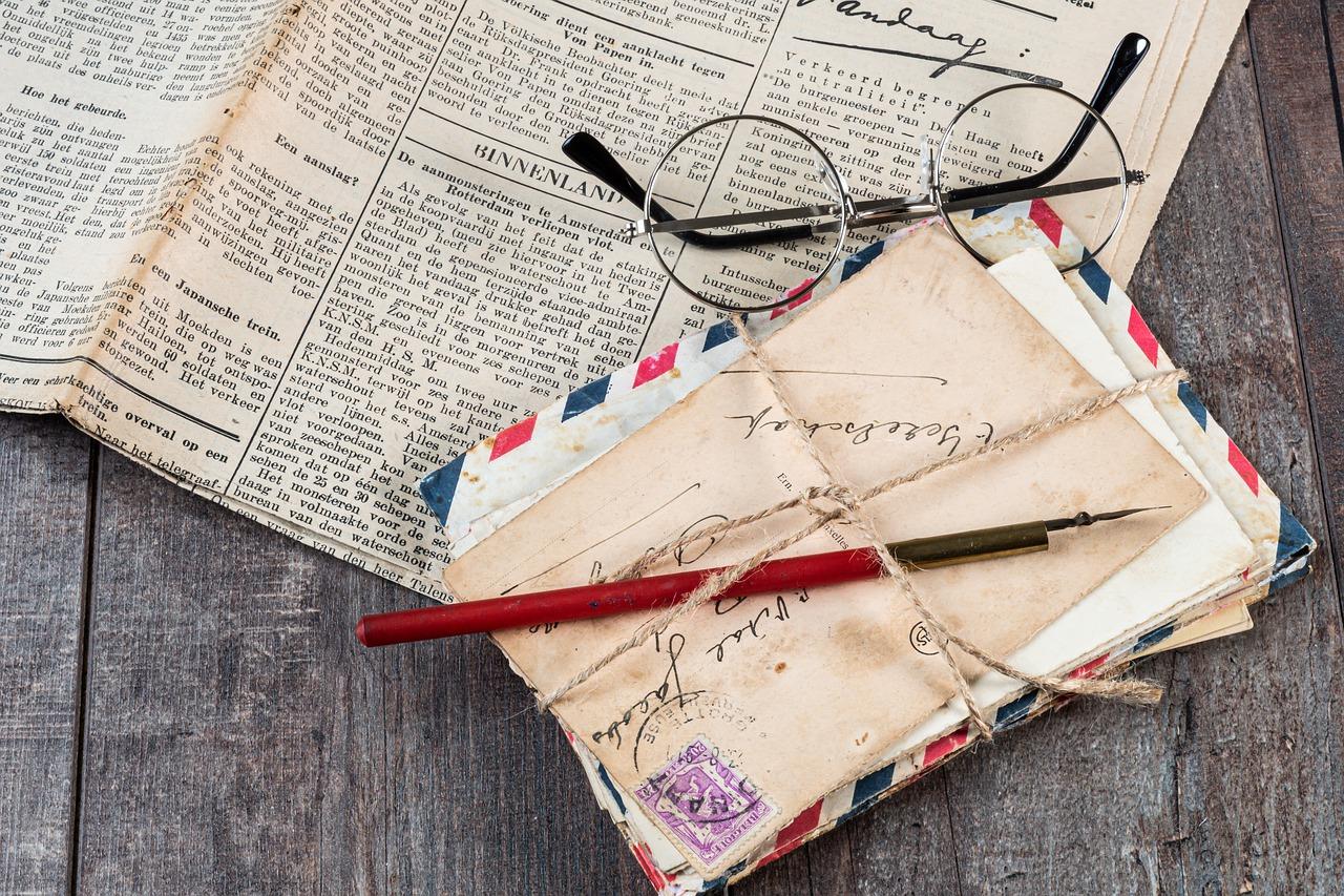 Från träd till färdig tidning